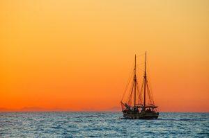 As pessoas e os navios